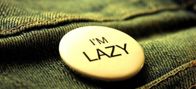 Proč nejsou lidé trochu línější?