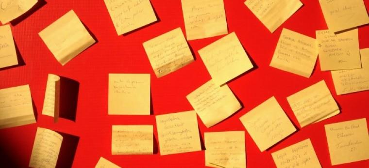 Jak nezapomenout důležité myšlenky a nápady?
